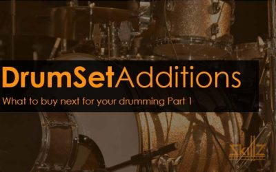What to buy next for your drumming Part 1: Additions to your drum set