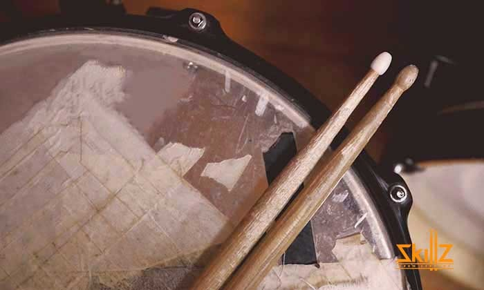 Old Snare and Drum Sticks