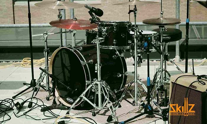 Venue drum setup