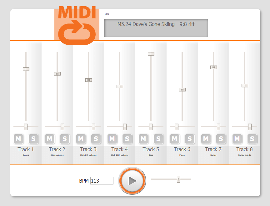 Premium Membership MIDI loop example