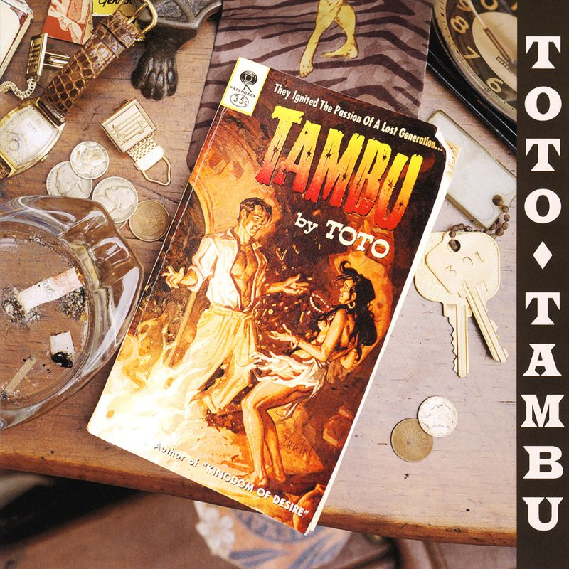 Simon Phillips playing Dave's Gone Skiing. Drum tutorial here at Skillz Drum Lessons. Album cover for Tambu by Toto.